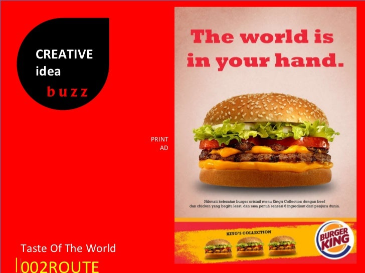 Print Ads Burger