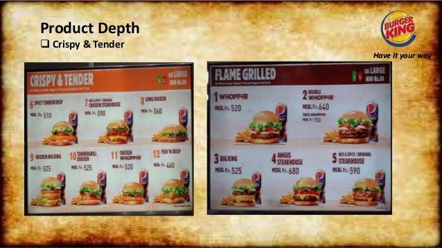 Burger king project Presentation