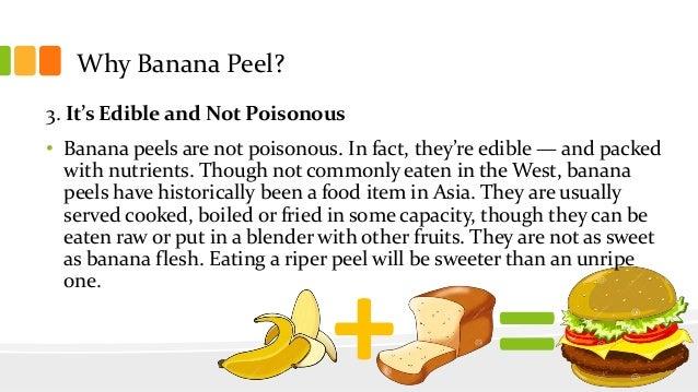banana peel patty How do you make a coal using banana peel - answerscom burn it.