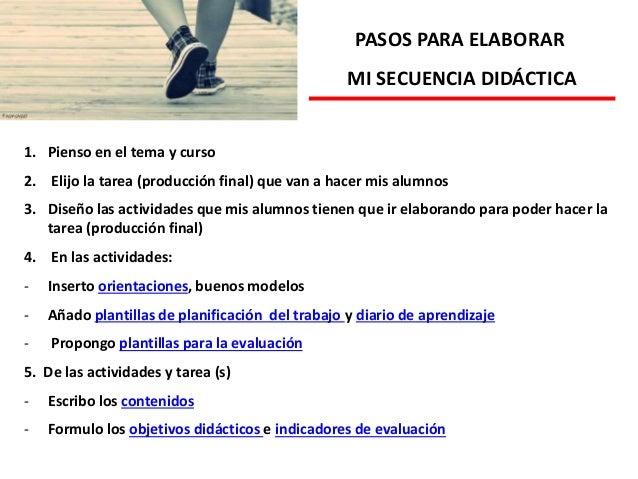 OBJETIVOS DIDÁCTICOS: ACTIVIDADES A REALIZAR (INTENTAR DAR PAUTAS PARA ELABORAR CADA ACTIVIDAD, PROCEDIMIENTOS, EJEMPLIFIC...