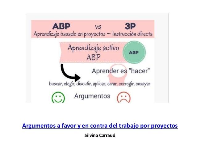 """Aprendizaje activo ABP Aprender es """"Hacer"""" Buscar, elegir, discutir, aplicar, errar, corregir, ensayar Argumentos A favor ..."""
