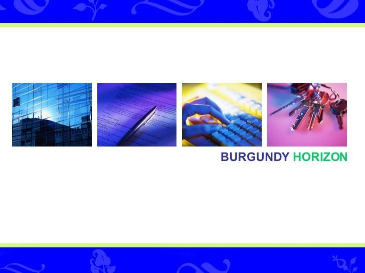 BURGUNDY   HORIZON