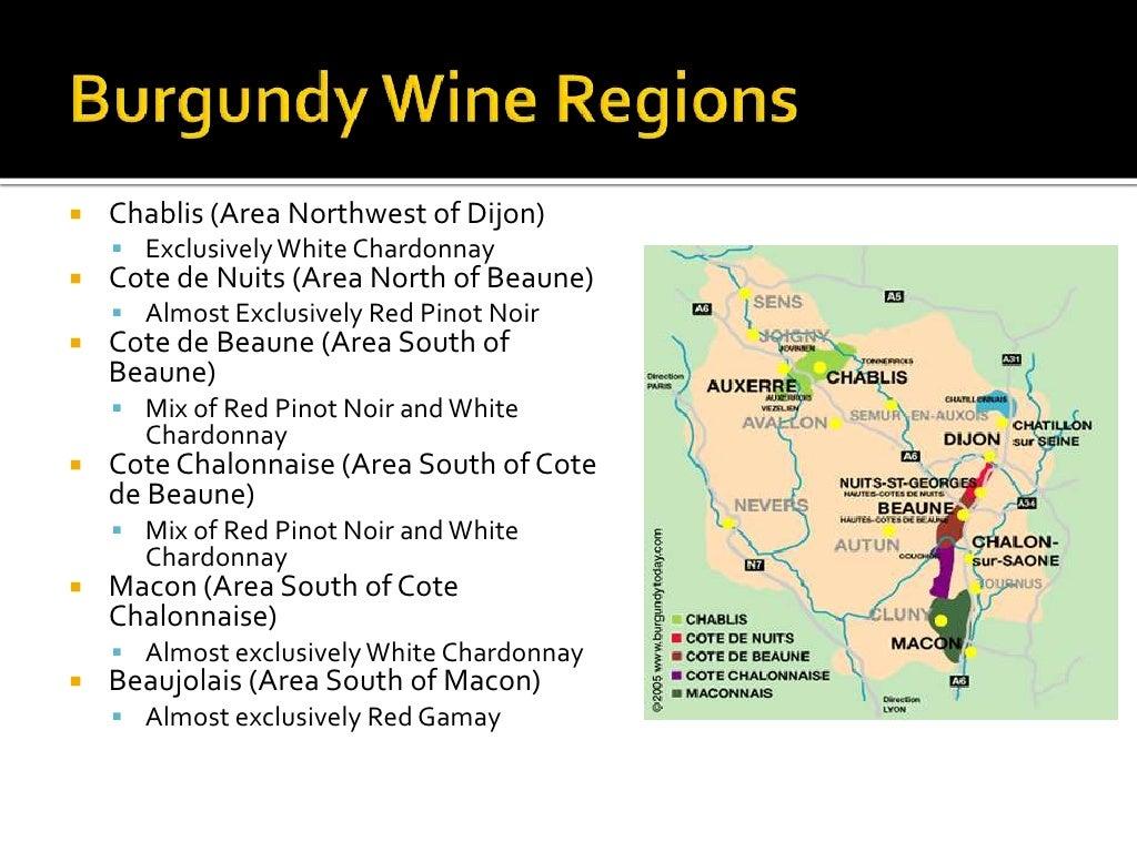Burgundy wine regions chablis area - The splendid transformation of a vineyard in burgundy ...