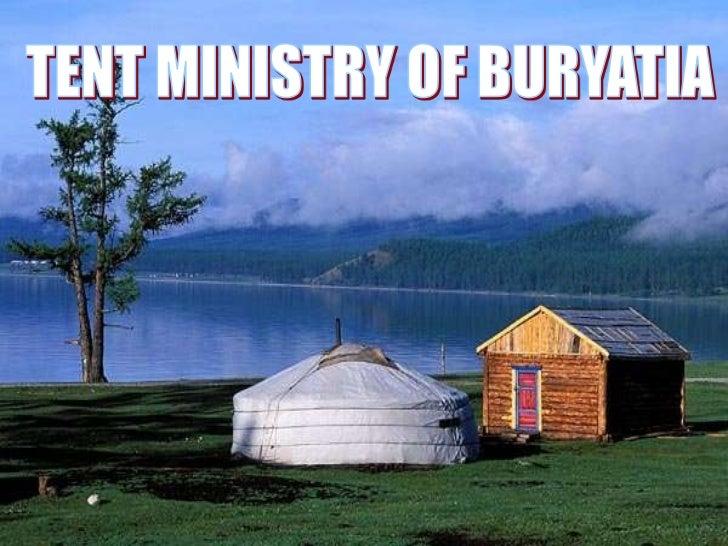 Tent Ministry in Buryatia
