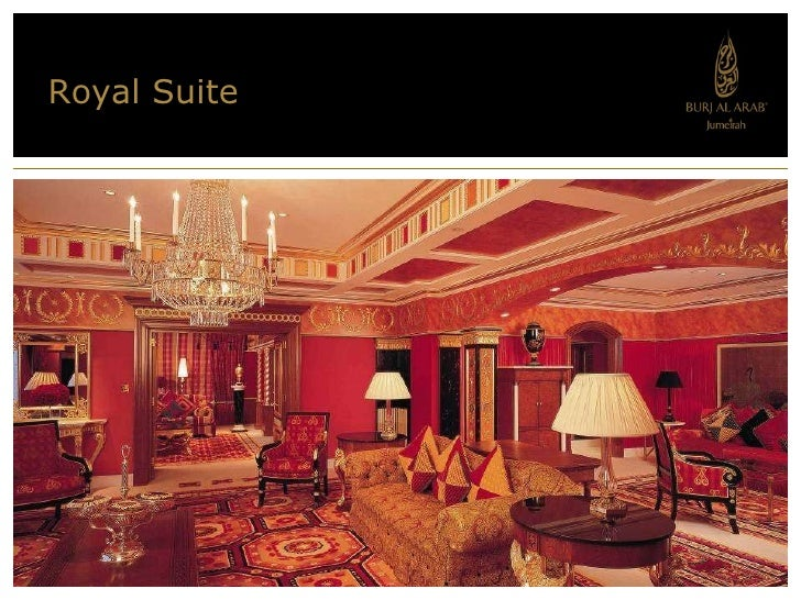 Royal Suite; 20.