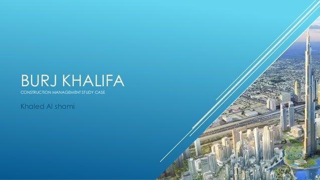 Burj Khalifa Case Study Solution and Analysis of Harvard ...