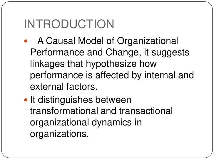 Burke & litwin model Slide 2