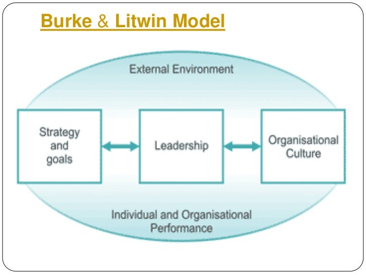 Causal Model of Organizational Performance and Change (Burke and Litwin)