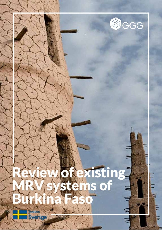 Review of existing MRV systems of Burkina Faso
