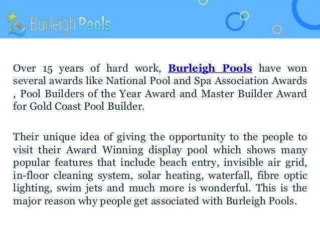 Burleigh Pools: Design and Build Your Stylish Pool or Spa