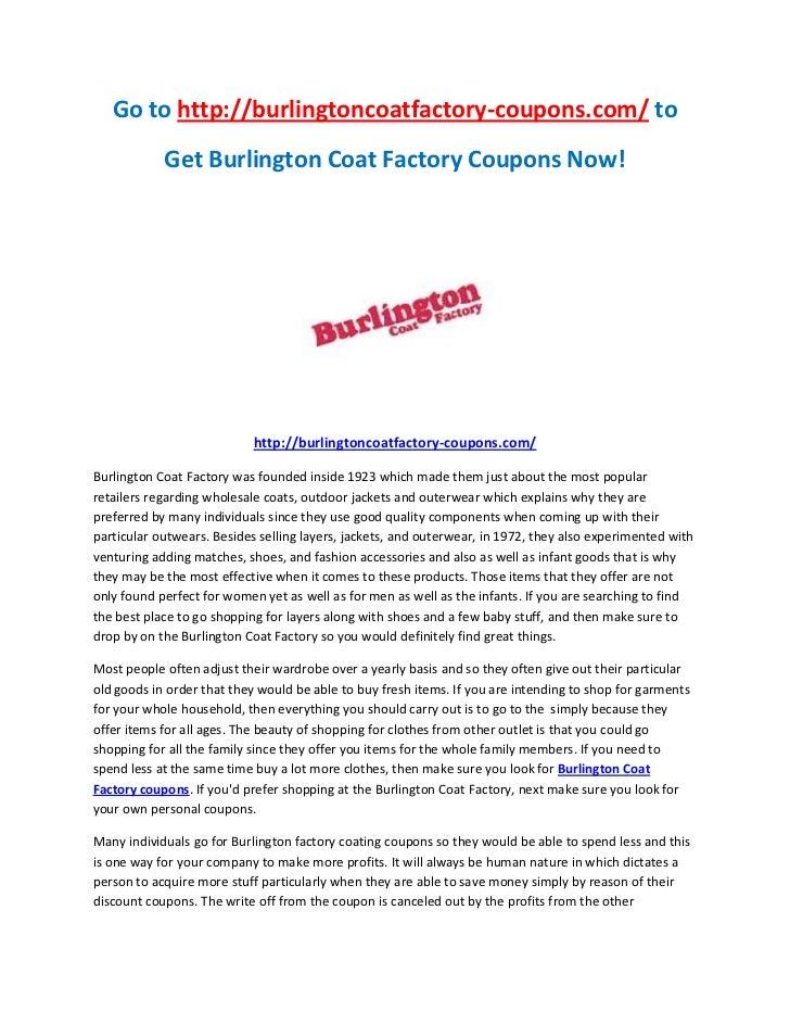 image about Burlington Coat Factory Printable Coupons identify Burlington coat manufacturing unit coupon codes codes 2018 : Coupon codes ibis resort