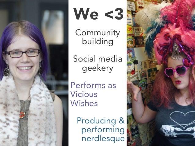 BurlyCon 2014 - Social Media for Winners Slide 2