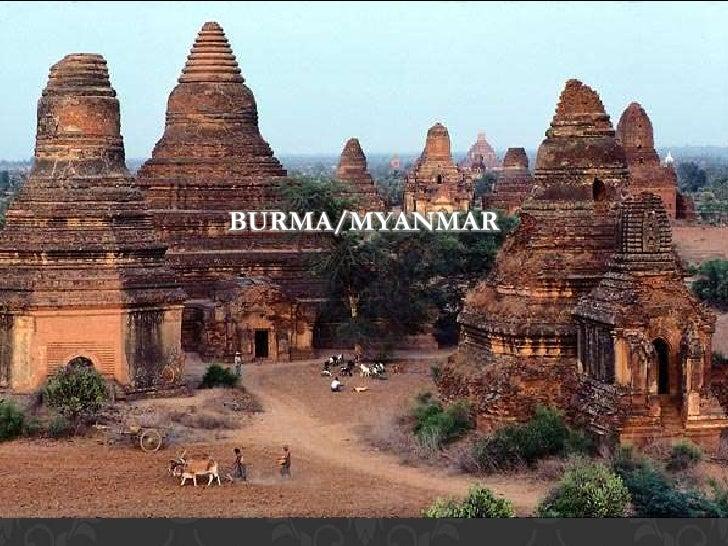 BURMA/MYANMAR     Asia