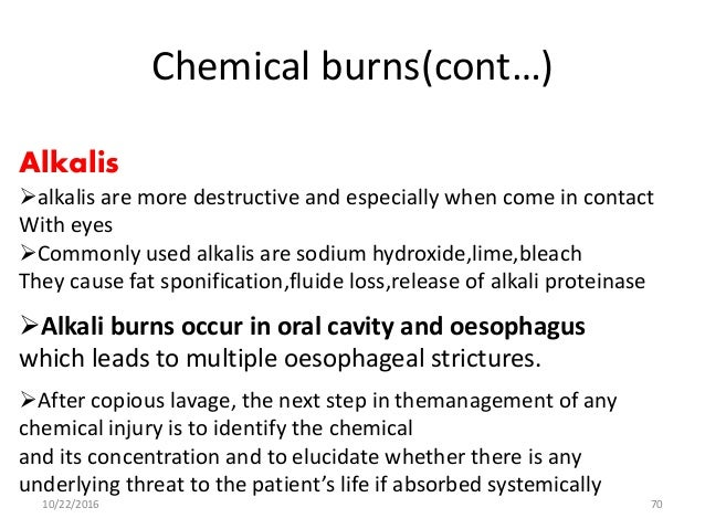 Burn classification and management