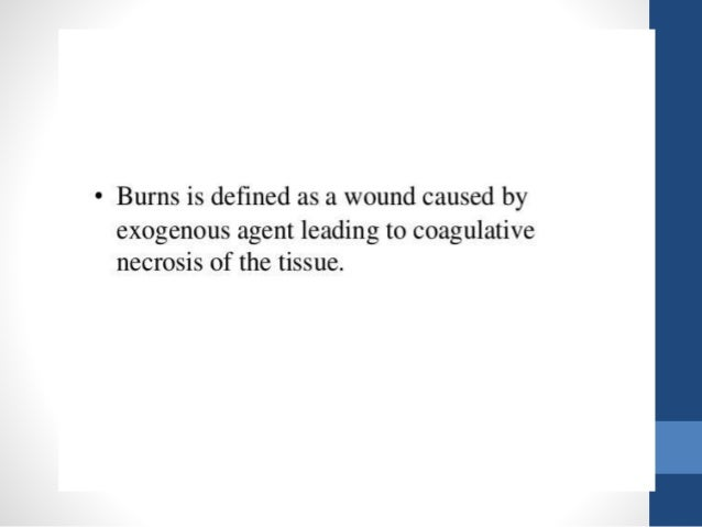 Causes of burn