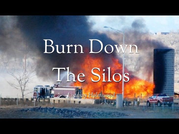 Burn Down The Silos  Lindsay Holmwood
