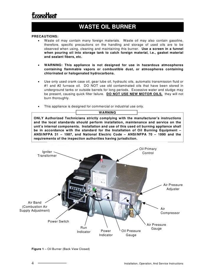 EconoHeat Manual for Vegetable Oil HeaterSlideShare