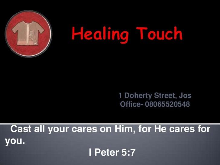 1 Doherty Street, Jos   1 Doherty Street, Jos       Office- 08065520548                               Office- 08065520548 ...