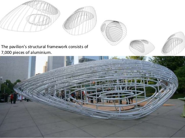 Burnham Pavilion Tensile Structures In Architecture