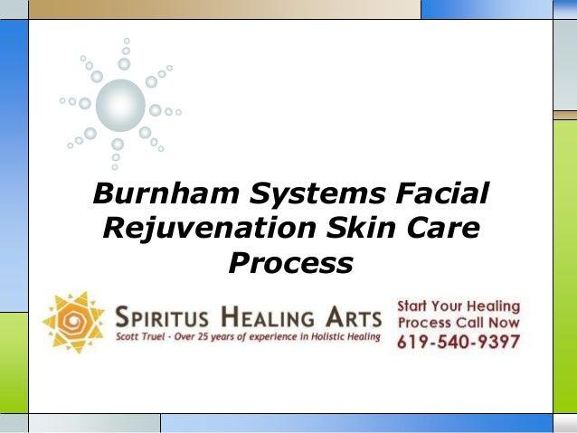 Burnham Systems Facial Rejuvenation Skin Care Process