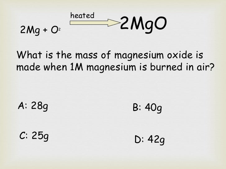 Atomic weight of magnesium lab