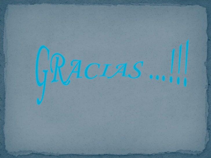 GRACIAS ...!!!