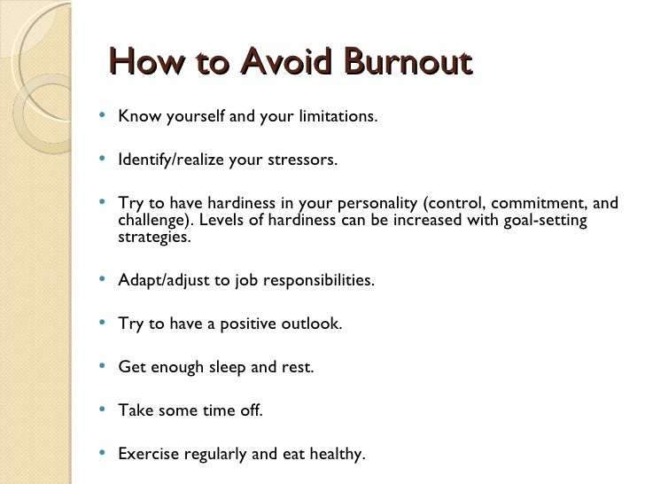 thesis writing burnout The use of thesis statement is not included in this version of the thesis   overall, confusion prevails among various writers about what burnout is and  whether.