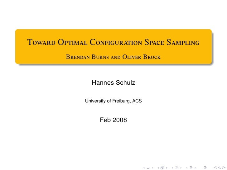 T O C S S          B B  O B                     Hannes Schulz     ...