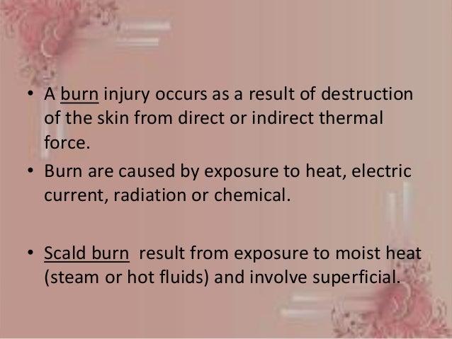Nursing management of Burns