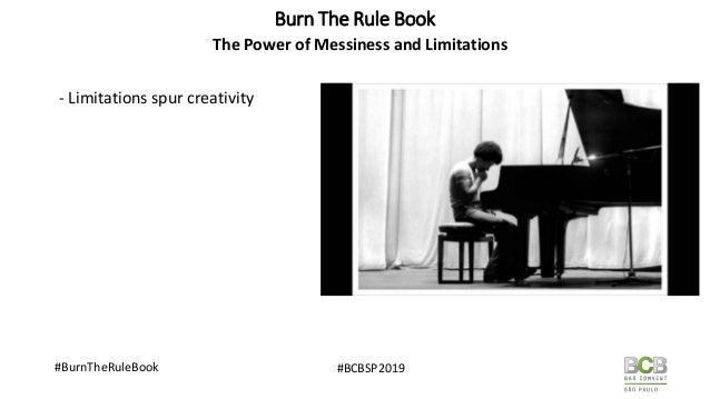 Burn The Rule Book : Unorthodox Practises of Successful Bars Slide 3