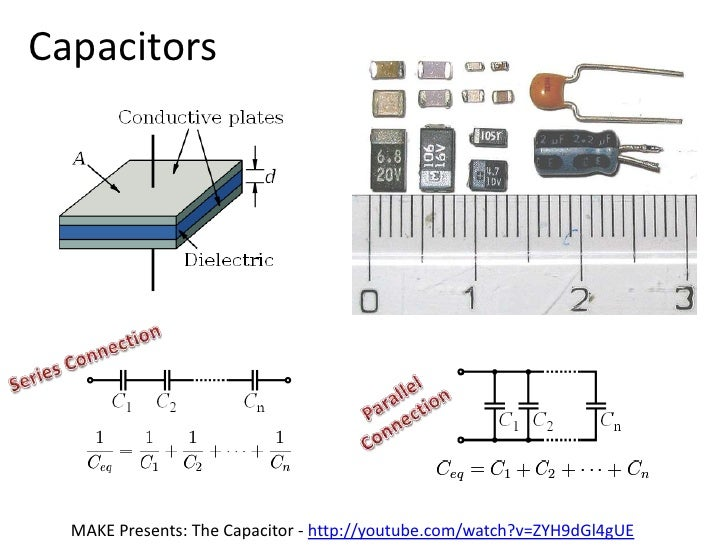 Resistors<br />Parallel<br />Connection<br />Series Connection<br />MAKE Presents: The Resistor - http://youtube.com/watch...