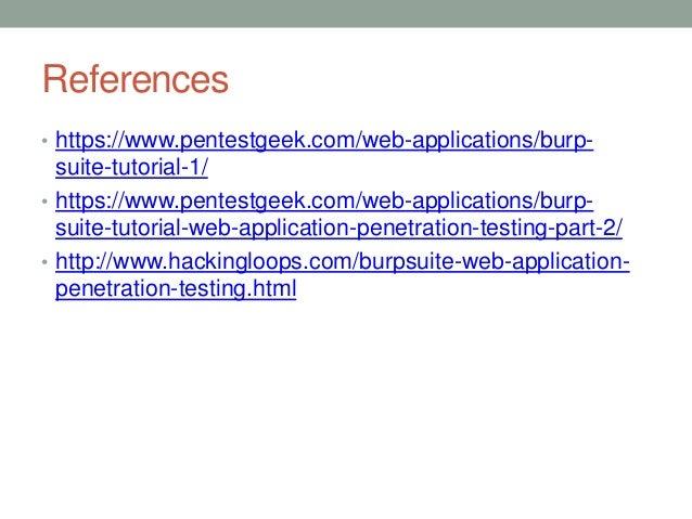 BurpSuite Proxy