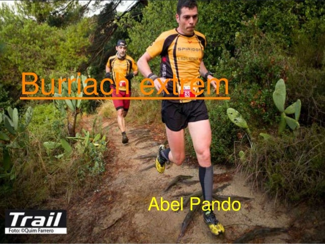 Burriach extrem Abel Pando