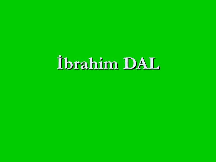 İbrahim DAL