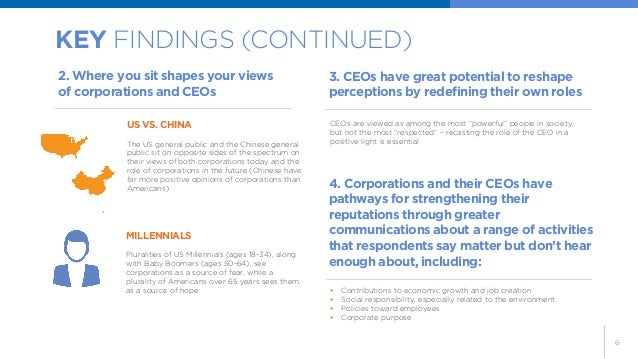 6  KEY FINDINGS (CONTINUED)  US VS. CHINA  The US general public and the Chinese general public sit on opposite sides of t...