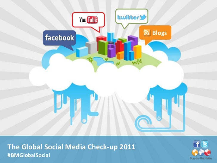 BlogsThe Global Social Media Check-up 2011#BMGlobalSocial