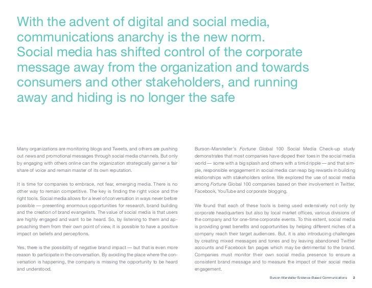The Global Social Media Check-up Slide 2