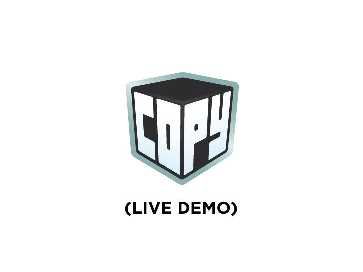 by          (LIVE DEMO)