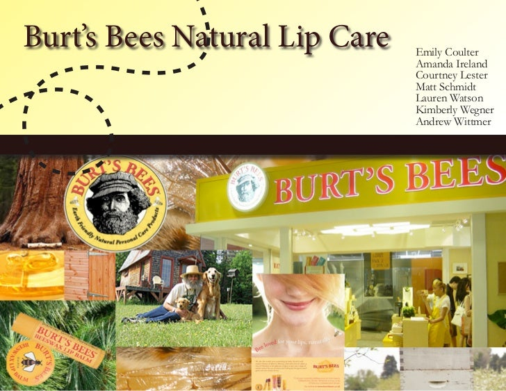 Burt's Bees Natural Lip Care   Emily Coulter                               Amanda Ireland                               Co...