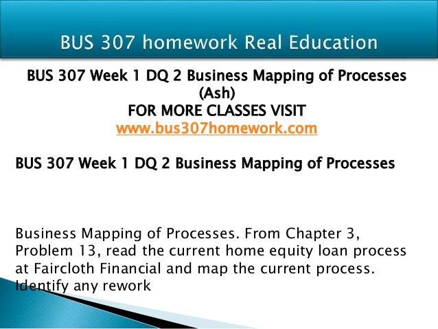 BUS 307 ASH Course Tutorial / Uoptutorial