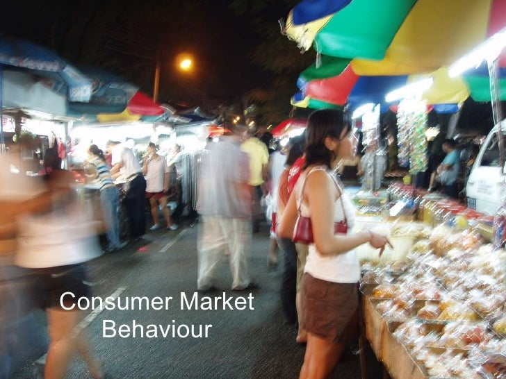 Consumer Market Behaviour