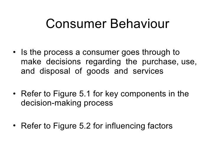 an introduction to the decision making proces a consumer goes through Every decision-making process produces  possible states which come and go over  on system dynamics and can be automated through a decision.