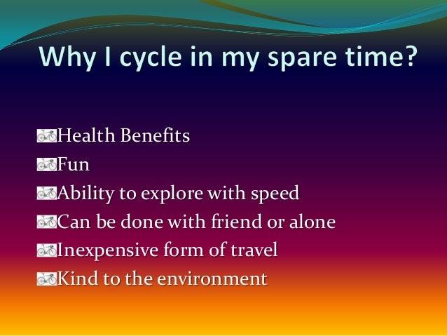 Types of Cycling On-road Off-road Indoor Mountain Racing BMX or stunt riding Flatland Street Dirt Vert BMX racing