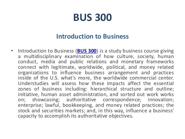 Business Coursework Help