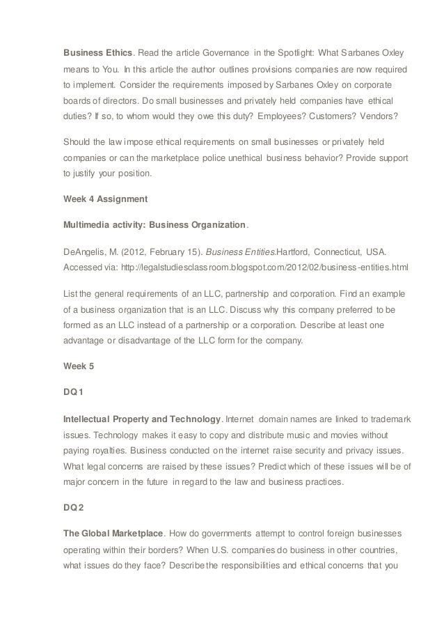 business law syllabus View notes - business law syllabus spring 2018 (1)pdf from economics v319231 at nyu new york university school of continuing and professional studies business law.