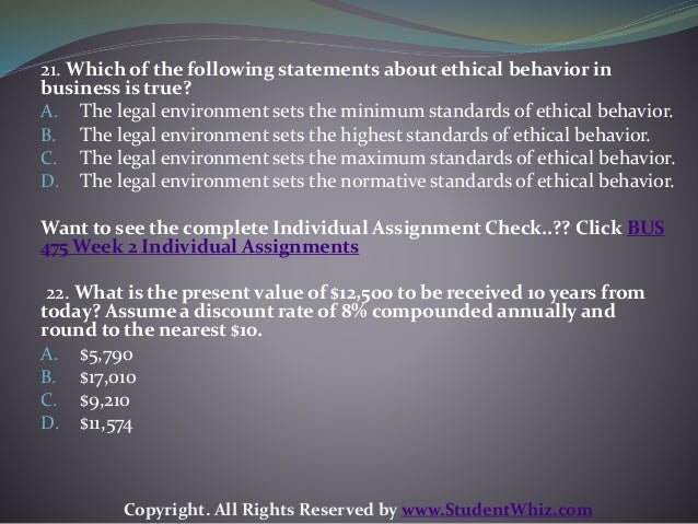 In business, ethics are very important, as companies must follow the unwritten rules to protect employee rights, the environment, and their customers. Business Ethics Business ethics determine.