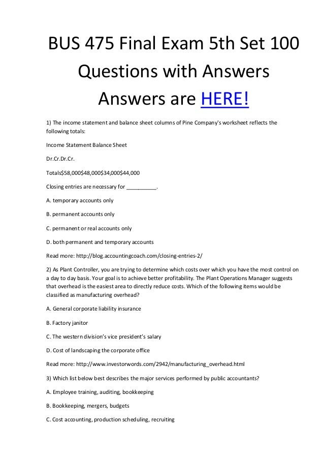 bus 475 answers quiz View test prep - bus 475 week 2 quiz 2 from bus 475 at strayer university,   question 2 3 out of 3 points stakeholder engagement is: selected answer: the.