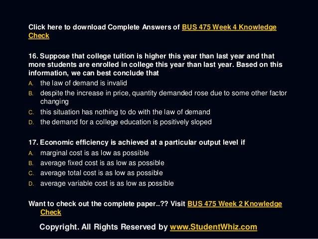 Knowledge Check Wk 19
