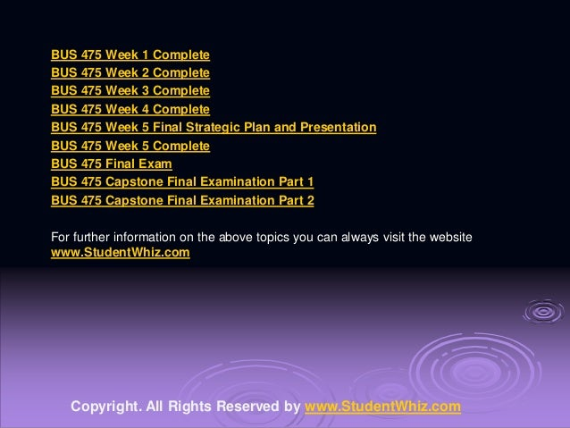 uop bus 475 presentation powerpoint Essays - largest database of quality sample essays and research papers on uop bus 475 presentation powerpoint.