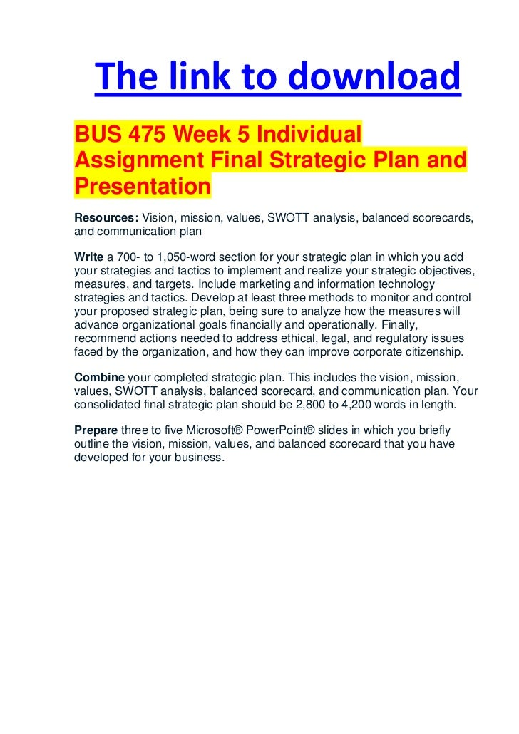 psy340 week 5 individual Below is an essay on psy/340 week 3 team assignment from anti  a small n  design has many observations on a single case or a few subjects 4  5 when  all subjects receive all levels of the independent variable, this is.